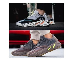 2019 With Box 700 Wave Runner Mauve EE9614 B75571 Running Shoes Men Women B75571 Stitching Color Top