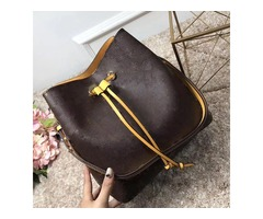 NEONOE shoulder bags Noé leather bucket bag women famous brands designer handbags high quality flowe