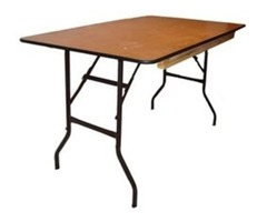 Plywood Folding Table - Folding Chairs Tables Larry