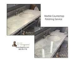 Marble Countertop Cleaning and Polishing in Brooklyn