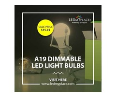 Ensure More Durable Lighting Results By Installing A19 Dimmable LED Light Bulbs