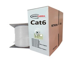 Cat6 Plenum 1000FT Networking Cable