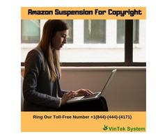 Amazon Suspension for Copyright
