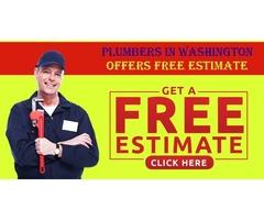 Plumbers In Washington Offers Free Estimate