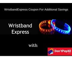 WristbandExpress Coupon For Additional Savings