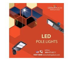 Switch to LED Pole Lights to Make Newly Constructed Commercial Facilities More Impressive