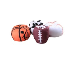 Hot Baseball Basketball Football Softball Storage Bags For Kids Baby Play Plush Stuffed Toys Blanket