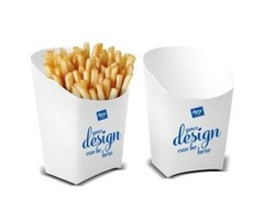 Get your Custom Fries boxes wholesale from us