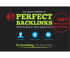 I Will Do SEO Backlinks For Your Website To Rank On Google First Page