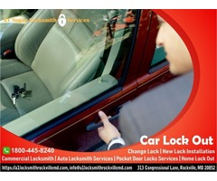 Home Lockout Services in Rockville , Car Lockout Services in Rockville MD
