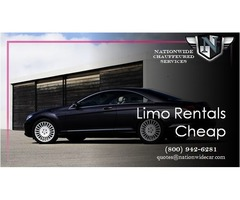 Limo Rentals Cheap