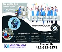 Deep Cleaning, Intensive Cleaning Services by Kulfi Cleaning..