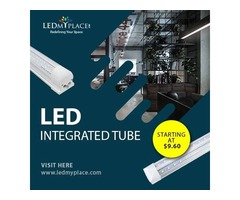 USE V-Shape Integrated LED Tube Lights For Better Illumination