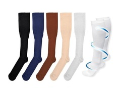 Hot Miracles Socks Anti Fatigue Compression Stocking Leg Warmers Slimming socks Calf Support Relief