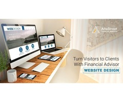 Responsive Website Design For Financial Advisors Offered By AltaStreet