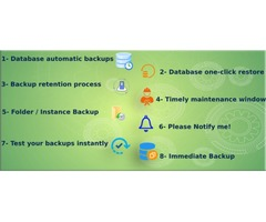 Easy way to Data Backup & Recovery Process on single click -Backup Restore