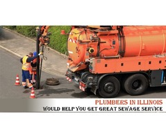 Plumbers In Illinois Would Help You Get Great Sewage Service