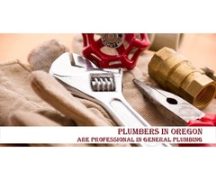 Plumbers in Oregon are Professional in General Plumbing