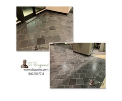 bathroom floor tile repair