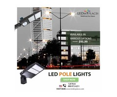 Install Eco-friendly LED Pole Light For Better Illumination