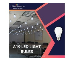 Install Bright A19 LED Light Bulbs to Brighten up your Space