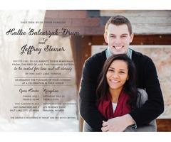 Utah Wedding Invitation Printing