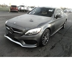 2017 Mercedes-Benz C-Class AWD AMG C 43 4MATIC 2dr Coupe For Sale