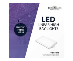 Install LED Linear High Bay Light For Commercial Lighting