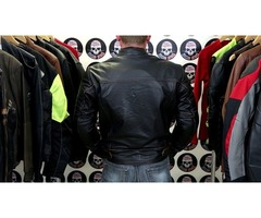 Blackguard Hand Buffed Leather Motorcycle Jacket