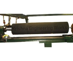 Re Coating Rubber Roll, Re Covering, Re Grinding Rubber Rollers