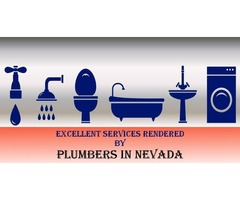 Excellent Services Rendered By Plumbers In Nevada