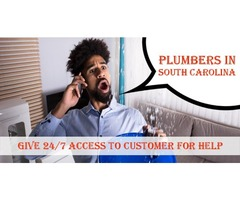 Plumbers In South Carolina Give 24/7 Access To Customer For Help | free-classifieds-usa.com