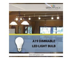 A19 DIMMABLE LED LIGHT BULBS IN SALE - GRAB NOW