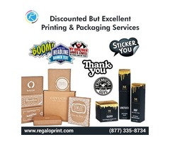 Discounted But Excellent Printing and Packaging Services | RegaloPrint