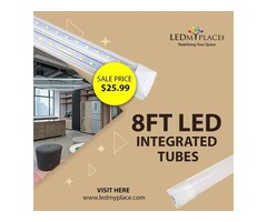 LEDMyplace.com - 8ft LED Tubes Commercial Lighting Fixtures - Up to 44% off Appliances