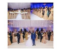 Champagne Bridesmaid Dresses Mermaid One Shoulder Pleats Long African Bridesmaids Dresses Cheap Plus