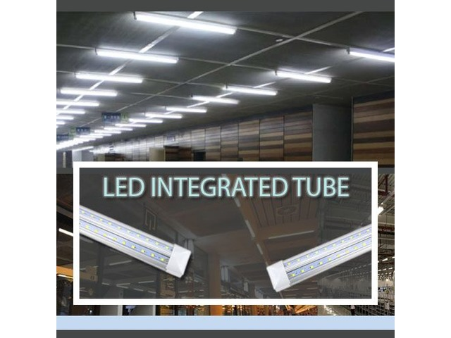 Install T8 8ft LED Tube Integrated Lights for Better Lighting Results  | free-classifieds-usa.com