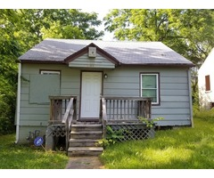 LESS THAN 10K INVESTMENT FOR A NICE HOME! GREAT NEIGHBORHOOD!