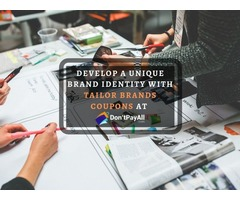 Get Affordable Services with Tailor Brands Coupon