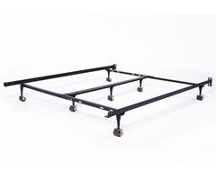 metal bed frame queen