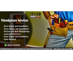 Professional Handyman Services in Silver Spring Maryland