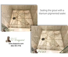 regrouting tile in shower