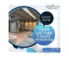 Use T8 4ft V shape Integrated LED Tube With 5 Years Warranty