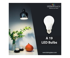 Buy Cheapest A19 LED Bulbs at Discounted Sale