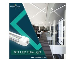 Install Now 8ft LED Tube Lights for Better Lighting Experience