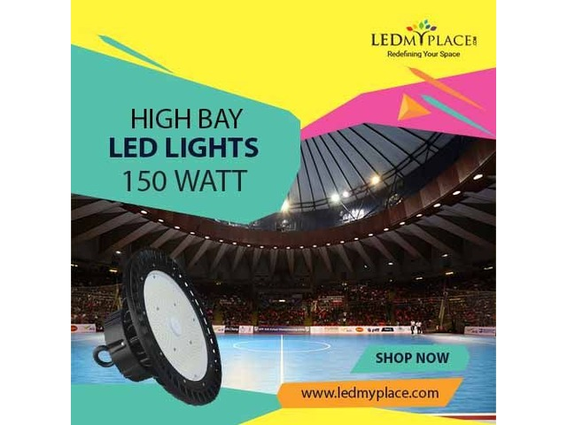 High Bay LED Light 150W --  Install For Perfect Warehouse Lighting | free-classifieds-usa.com
