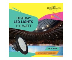 High Bay LED Light 150W --  Install For Perfect Warehouse Lighting