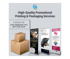 High-Quality Promotional Printing and Packaging Services | Regalo Print