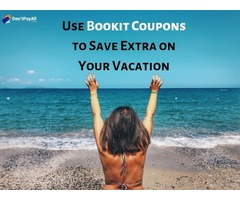 Get Discount on Travel Bookings with BookIt Coupons