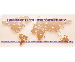 Take a short and smooth way to Register Firm Internationally